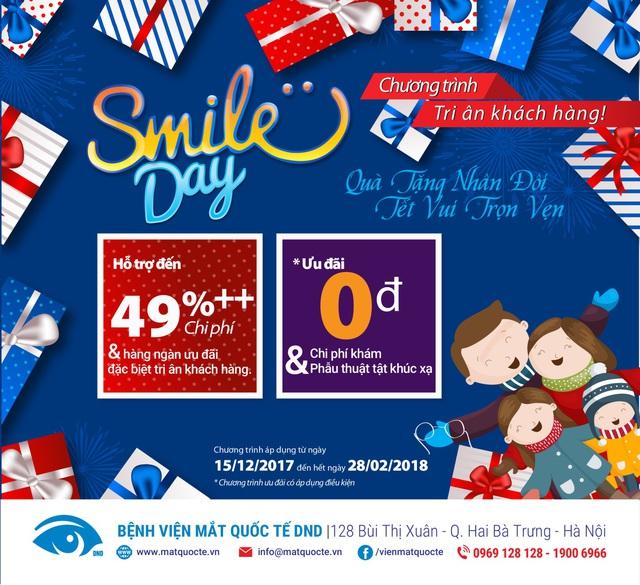 Smiles Day DND – Ngày hội chăm sóc mắt miễn phí cho cả gia đình - Ảnh 1.