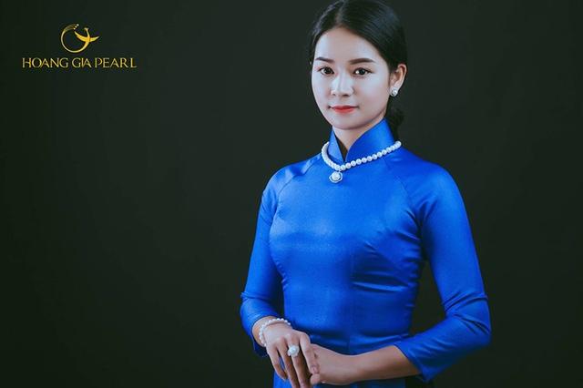 Trang sức ngọc trai đẹp nền nã cho áo dài - Ảnh 8.