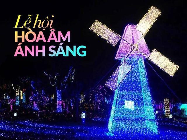 Choáng ngợp với lễ hội hòa âm ánh sáng tại Hà Nội - Ảnh 1.