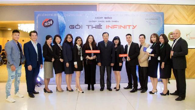 Fit24 Hà Nội chính thức ra mắt gói thẻ Infinity  - Ảnh 1.