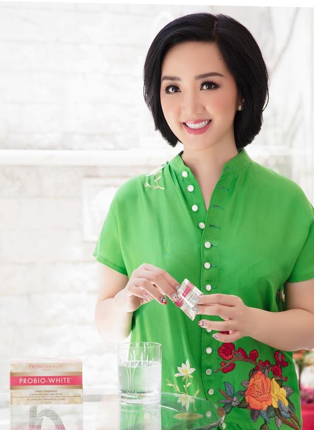 Hoa hậu Giáng My mách nước cách dưỡng da đẹp bất chấp tuổi tác - Ảnh 3.