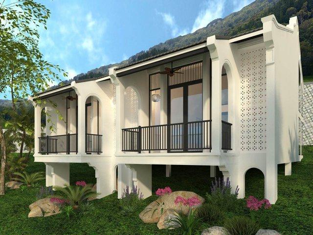 Hoài niệm kiến trúc Đông Dương với nhà ngoại ô Maison De Campagne - Ảnh 2.