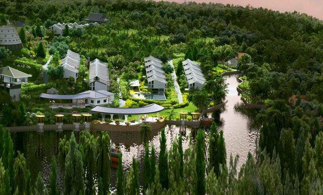 Hoài niệm kiến trúc Đông Dương với nhà ngoại ô Maison De Campagne - Ảnh 5.
