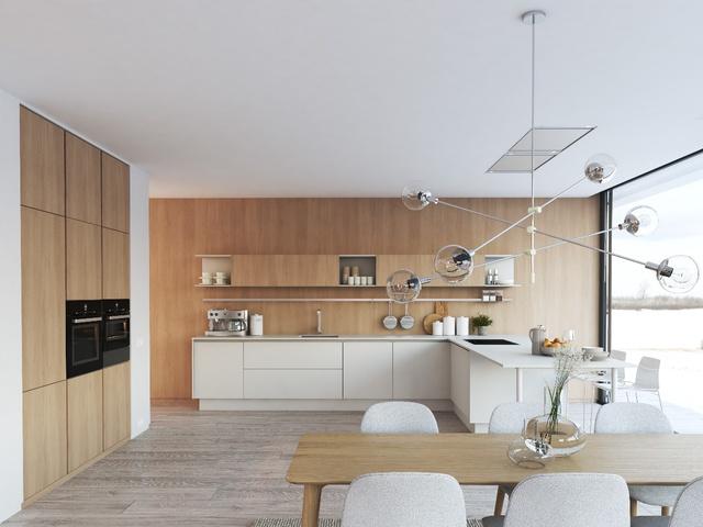 Tạo điểm nhấn ấn tượng cho căn bếp hiện đại - Ảnh 2.