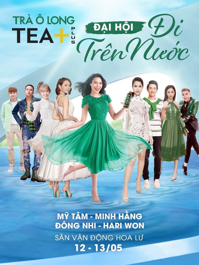 """""""Tea+ Đi trên nước"""" sự kiện quy tụ dàn sao khủng Việt Nam - Ảnh 2."""