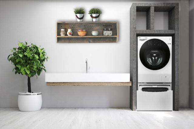 Biến tấu không gian ngôi nhà bạn với máy giặt lồng đôi - Ảnh 1.
