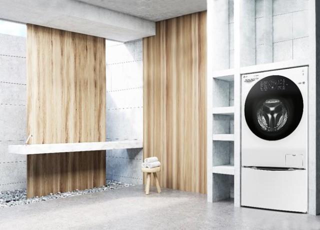 Biến tấu không gian ngôi nhà bạn với máy giặt lồng đôi - Ảnh 4.