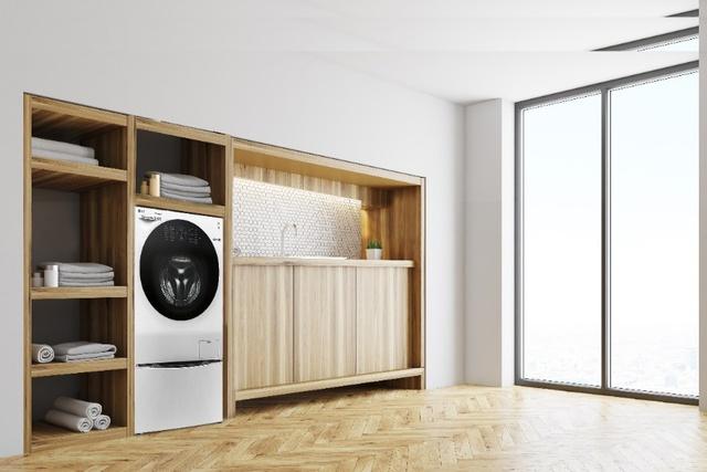 Biến tấu không gian ngôi nhà bạn với máy giặt lồng đôi - Ảnh 5.