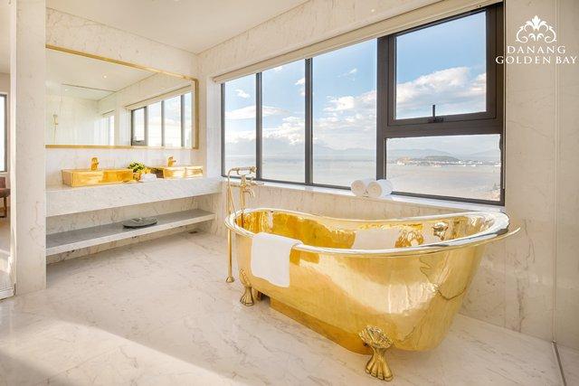 Chiêm ngưỡng khách sạn có bể bơi dát vàng 24k cao nhất và lớn nhất thế giới - Ảnh 7.