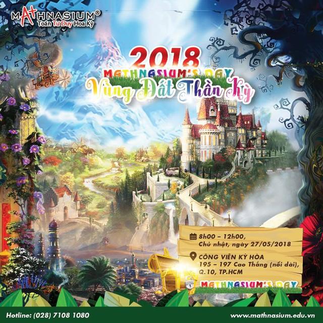 Khám phá vùng đất thần kỳ tại ngày hội MATHNASIUM'S DAY 2018 - Ảnh 2.