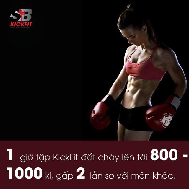 Quên các bài tâp gym đi, muốn eo thon sau 10 buổi tập- nàng nhất định phải biết Kickfit - Ảnh 1.