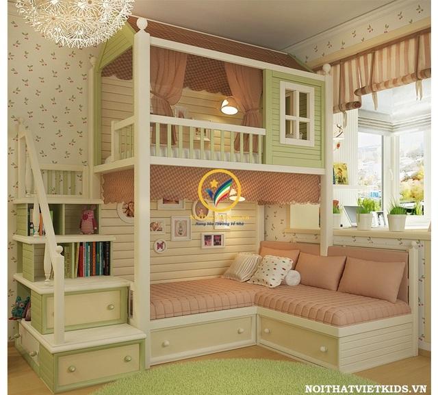 Các thiết kế phòng ngủ trẻ em ấn tượng - Ảnh 2.