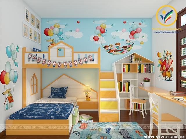 Các thiết kế phòng ngủ trẻ em ấn tượng - Ảnh 3.