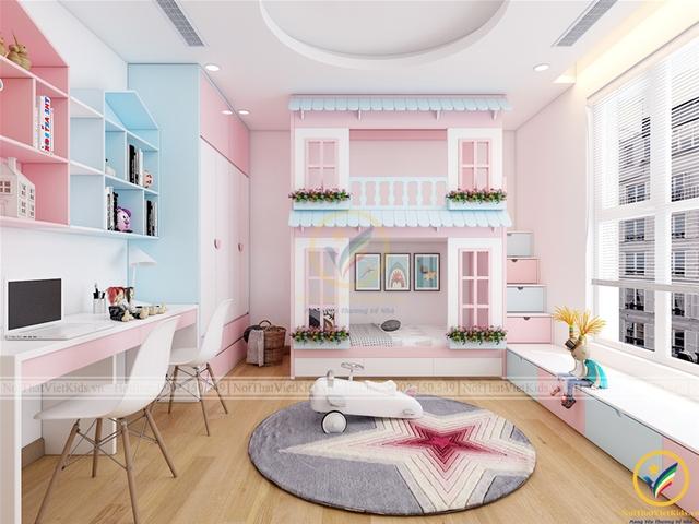 Các thiết kế phòng ngủ trẻ em ấn tượng - Ảnh 4.
