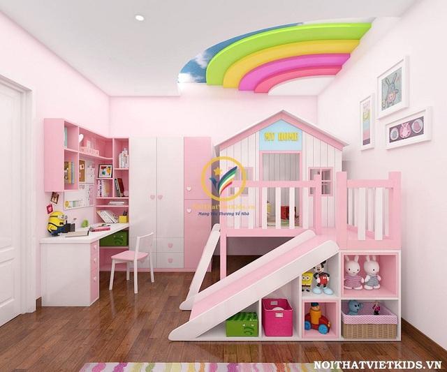 Các thiết kế phòng ngủ trẻ em ấn tượng - Ảnh 5.