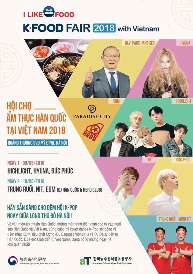 Khám phá lễ hội K-FOOD 2018 - Ảnh 1.