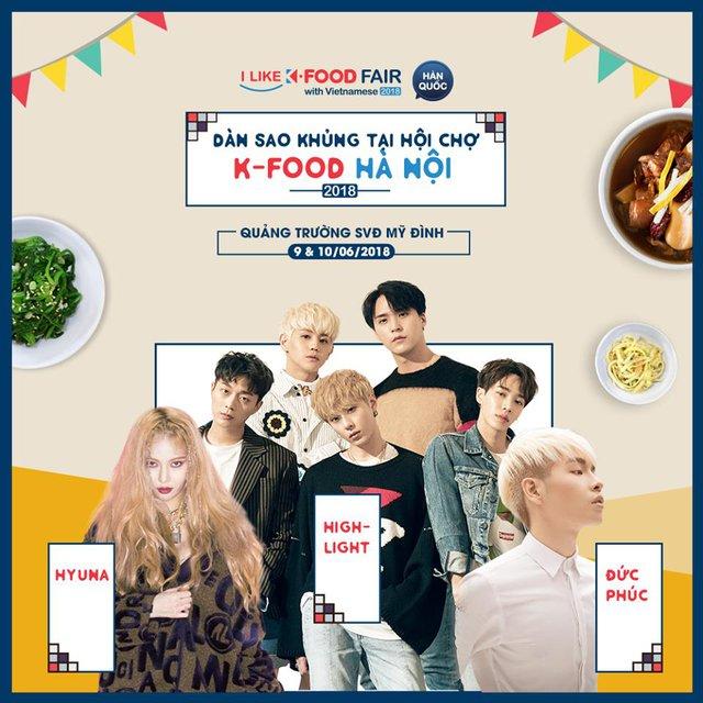 Khám phá lễ hội K-FOOD 2018 - Ảnh 2.