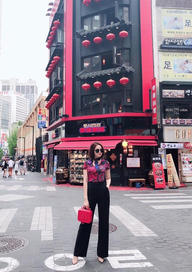 Đào Lan Phương - Con dâu tỉ phú Hoàng Kiều cực trẻ trung và cá tính tại Seoul - Ảnh 6.