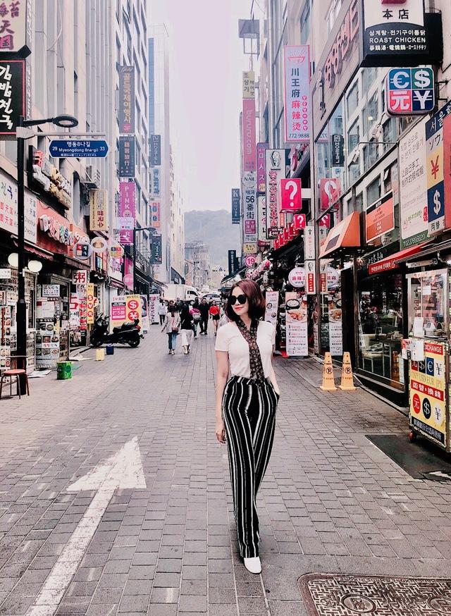 Đào Lan Phương - Con dâu tỉ phú Hoàng Kiều cực trẻ trung và cá tính tại Seoul - Ảnh 10.