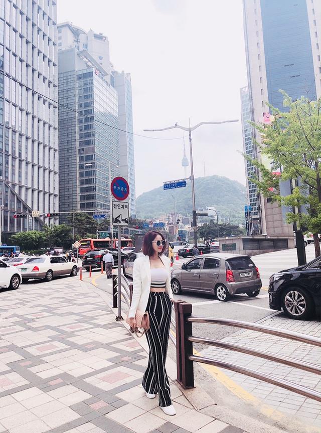 Đào Lan Phương - Con dâu tỉ phú Hoàng Kiều cực trẻ trung và cá tính tại Seoul - Ảnh 11.