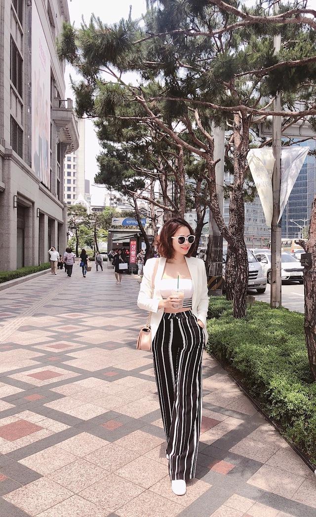 Đào Lan Phương - Con dâu tỉ phú Hoàng Kiều cực trẻ trung và cá tính tại Seoul - Ảnh 12.