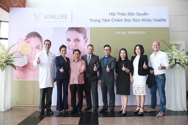 Hội thảo độc quyền về sức khỏe của Vitallife – vì một tương lai khỏe mạnh và xinh đẹp
