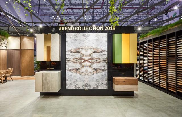 Bộ sưu tập Trend Collection của Gỗ An Cường gây ấn tượng mạnh tại Vietbuild HCM 2018 - Ảnh 1.