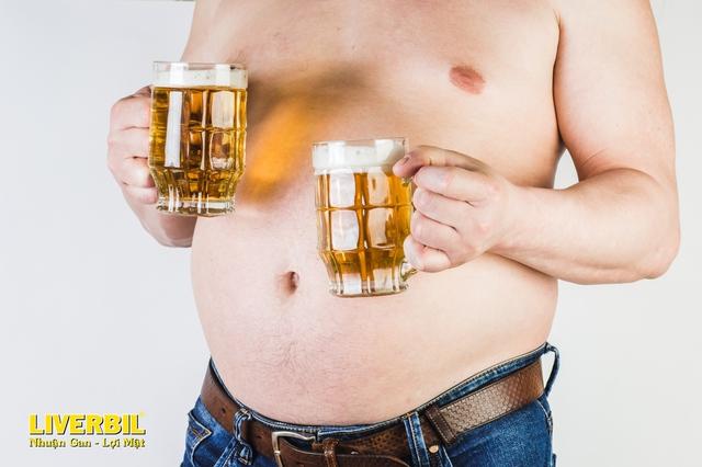 """Uống rượu bia mùa World Cup: Chớ để lá gan """"nổi nóng"""" - Ảnh 2."""