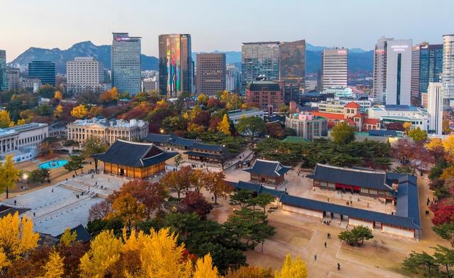 Đến ngay Seoul đi, ngắm con đường lá đỏ lãng mạn như trong phim Hàn - Ảnh 5.