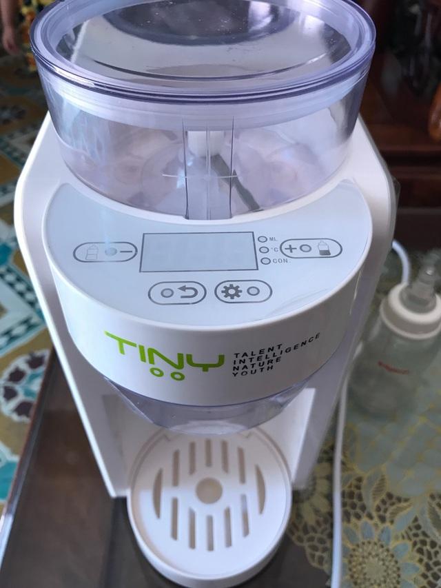 Máy pha sữa bột Tiny Baby Nhật Bản, người bạn không thể thiếu của các mẹ bỉm sữa - Ảnh 2.