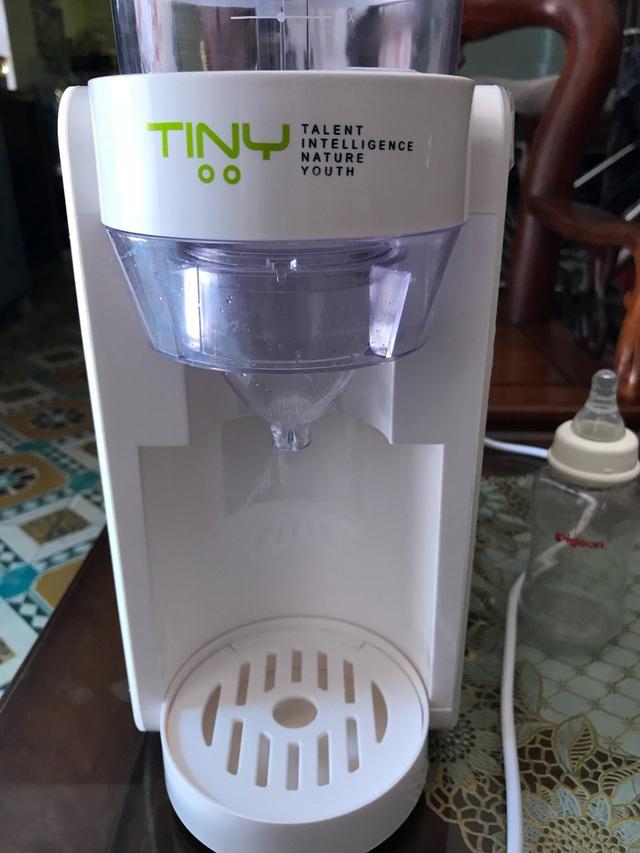 Máy pha sữa bột Tiny Baby Nhật Bản, người bạn không thể thiếu của các mẹ bỉm sữa - Ảnh 3.