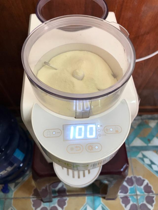 Máy pha sữa bột Tiny Baby Nhật Bản, người bạn không thể thiếu của các mẹ bỉm sữa - Ảnh 4.
