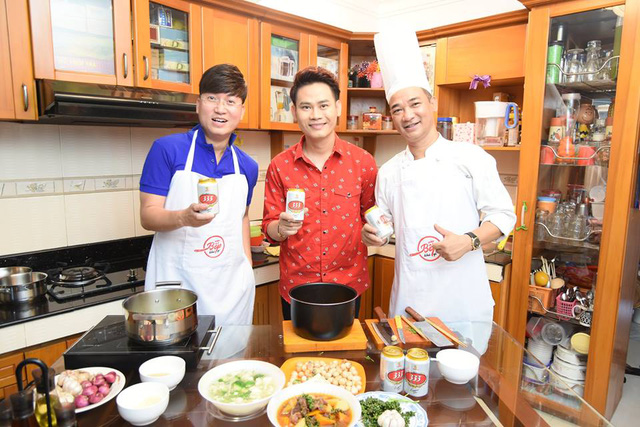 """Sỹ Luân, Quốc Thuận, Ngọc Tưởng khoe tài nấu ăn với """"Vào bếp khó gì"""" - Ảnh 4."""