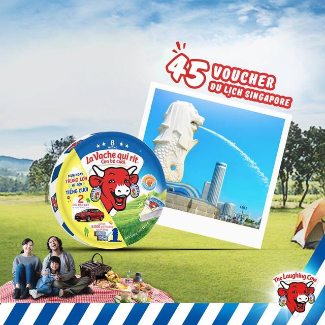 Niềm vui mùa hè cùng món quà nửa tỷ phô mai Con Bò Cười - Ảnh 4.