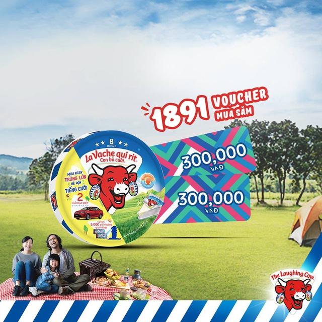Niềm vui mùa hè cùng món quà nửa tỷ phô mai Con Bò Cười - Ảnh 5.