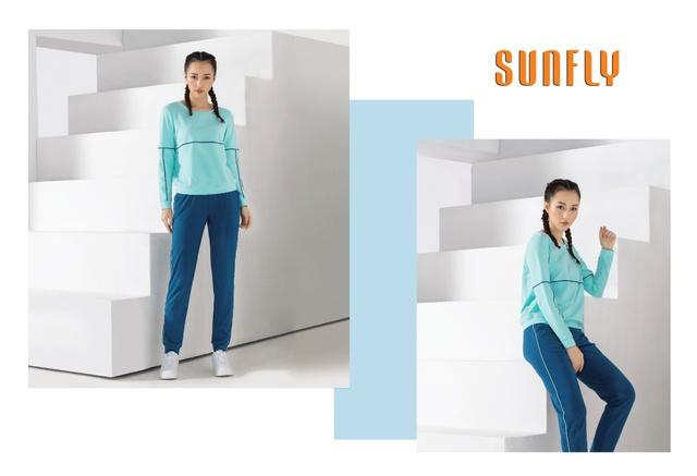 Sunfly thổi làn gió mới cho thời trang mặc nhà cùng phong cách Sport – Chic - Ảnh 3.