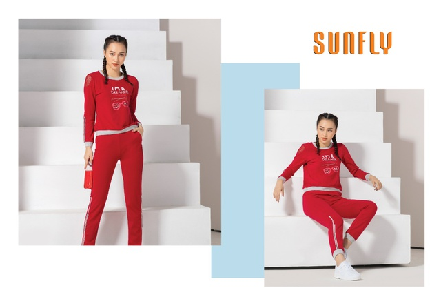 Sunfly thổi làn gió mới cho thời trang mặc nhà cùng phong cách Sport – Chic - Ảnh 4.