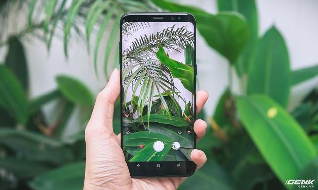 Chụp ảnh với tỉ lệ 18:5:9 trên Galaxy S8, S8 Plus