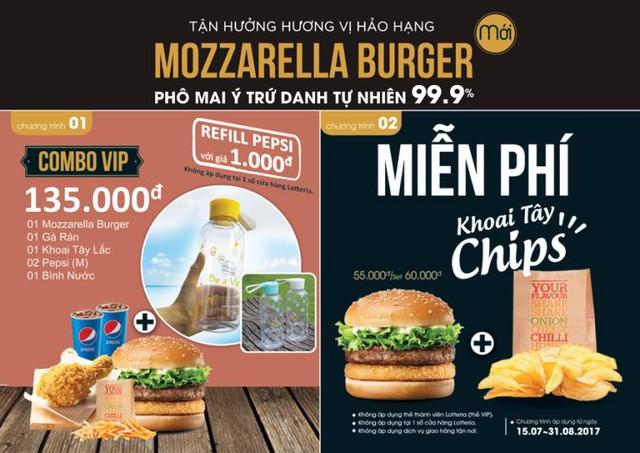 Lotteria miễn phí hàng ngàn burger thượng hạng - Ảnh 6.