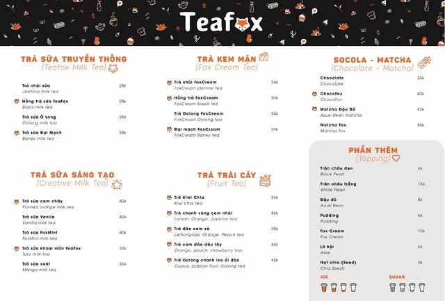 """Nóng đến 40 độ thì phải làm gì? Đừng quên có ngày hội trà sữa """"TEAFOX DAY"""" đồng giá 18K đang chờ bạn nhé! - ảnh 4"""