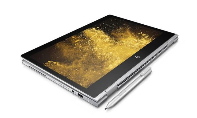 Đúng với tên gọi x360, sản phẩm cũng sở hữu màn hình cảm ứng có khả năng xoay lật cho phép người dùng có thể sử dụng ở nhiều tư thế khác nhau. Khi lật ngược lại có thể sử dụng như một chiếc máy tính bảng thông thường. Với chiếc bút cảm ứng kèm theo thì việc viết vẽ, ghi chú nhanh sẽ tiện hơn bao giờ hết. Với HP EliteBook x360 thì bạn sẽ không còn cần đến sổ tay nữa, chỉ một chiếc laptop là đáp ứng được mọi nhu cầu.