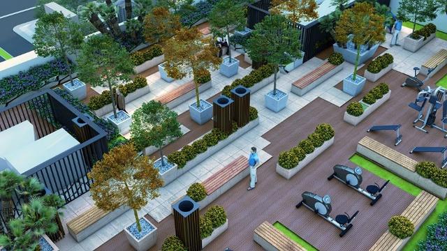 Sky Garden là điểm nhấn đặc biệt của dự án trong khu vực Mỹ Đình.