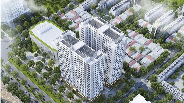 Dự án @Home có mật độ xây dựng chỉ 38,8%