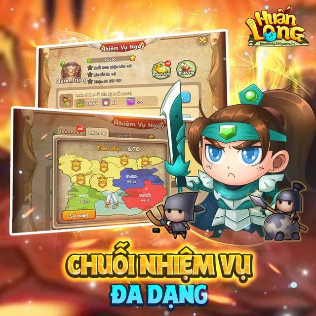 Huấn Long VNG – bước đi mạnh mẽ khẳng định ngôi đầu thị trường game đấu tướng chiến thuật