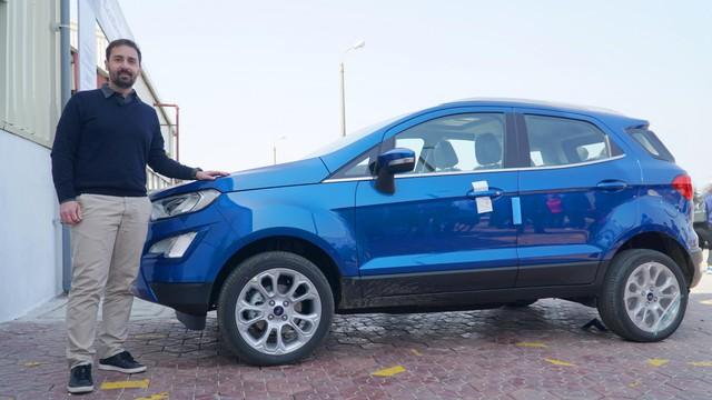 Ford EcoSport từ Brasil đến Việt Nam - Ảnh 1.