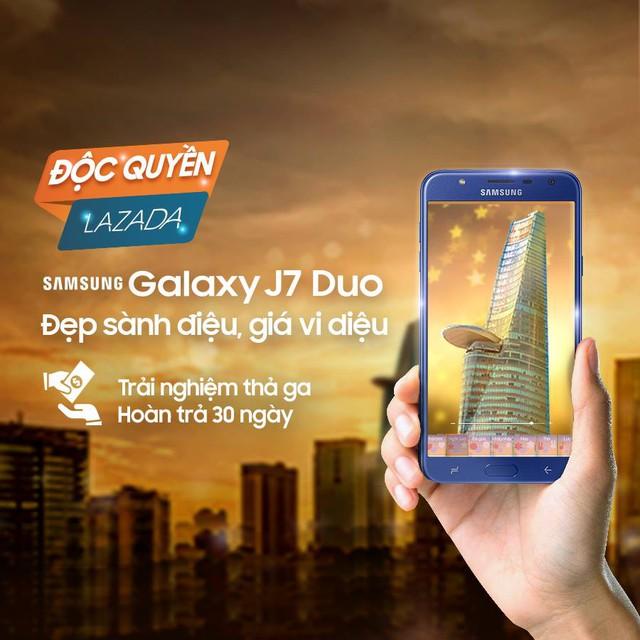 Khách hàng có thể đổi trả khi mua Galaxy J7 Duo trên Lazada trong vòng 30 ngày, hoàn tiền đến 80%