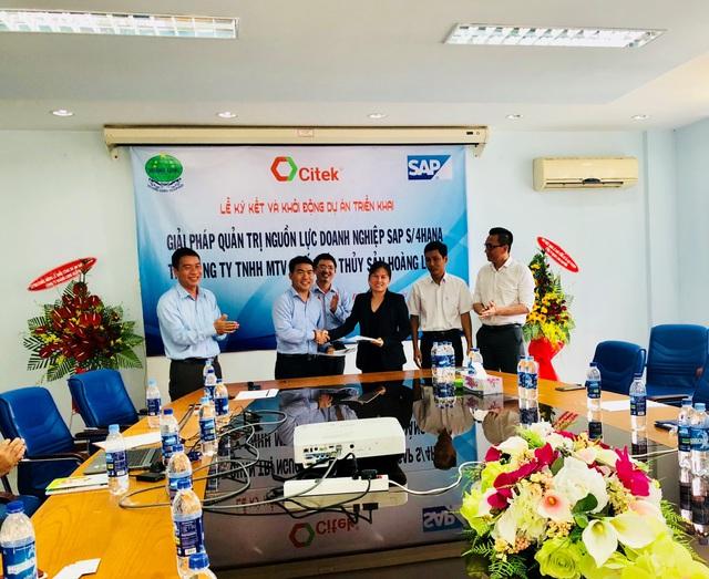 Thủy sản Hoàng Long ứng dụng giải pháp quản trị tổng thể nguồn lực doanh nghiệp SAP S/4HANA do CITEK tư vấn và triển khai - Ảnh 1.