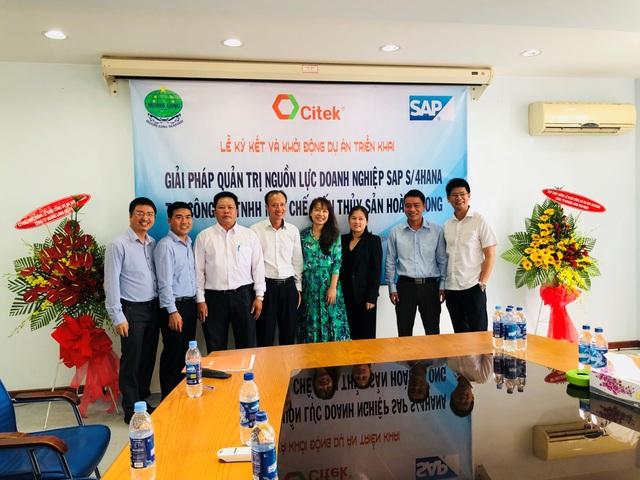Thủy sản Hoàng Long ứng dụng giải pháp quản trị tổng thể nguồn lực doanh nghiệp SAP S/4HANA do CITEK tư vấn và triển khai - Ảnh 2.