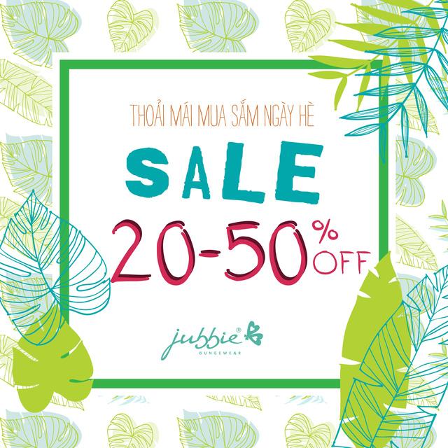 """Thời trang mặc nhà Jubbie sale """"kịch sàn"""" đến 50% đối với BST Xuân Hè 2017 - Ảnh 1."""