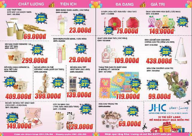 Khai trương Japan Home Centre – Thiên đường mua sắm đồ tiện ích gia đình - Ảnh 6.